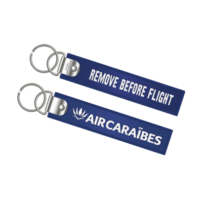 Picture of AIR CARAÏBES - Flame key ring