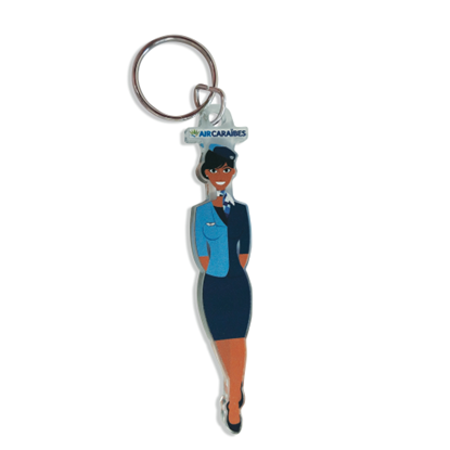 Picture of AIR CARAÏBES - Hostess key holder