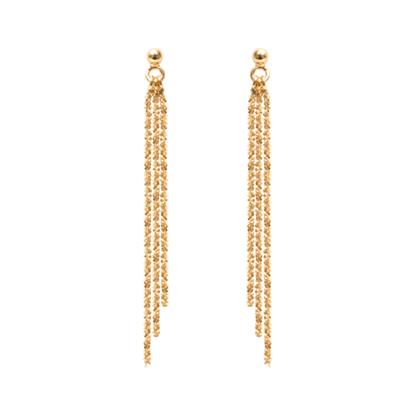 Image de CLIO BLUE - Boucles d'oreilles dorées