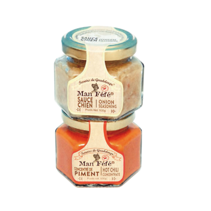 Picture of MAN'FEFE - Set of 2 traditional sauces