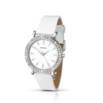 Picture of SEKONDA - White Watch for women