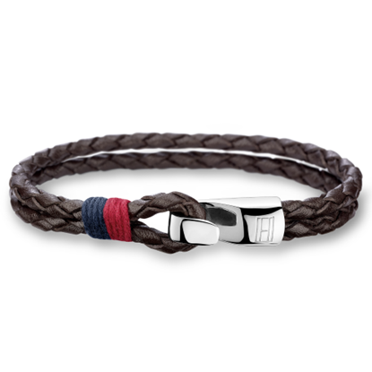 Picture of TOMMY HILFIGER - Bracelet cool core marron