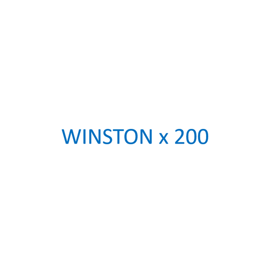 Image sur WINSTON - Blue x 200