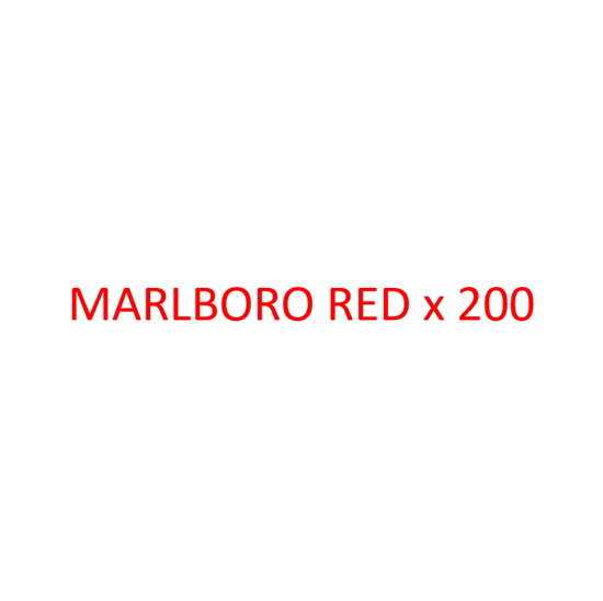 Picture of MARLBORO - Red x 200