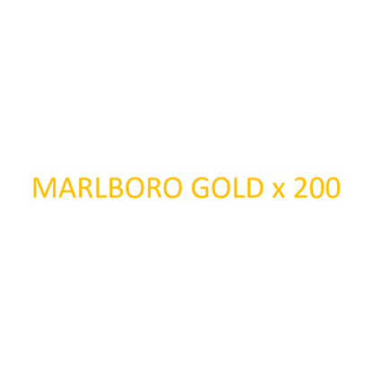 Picture of MARLBORO - Gold x 200