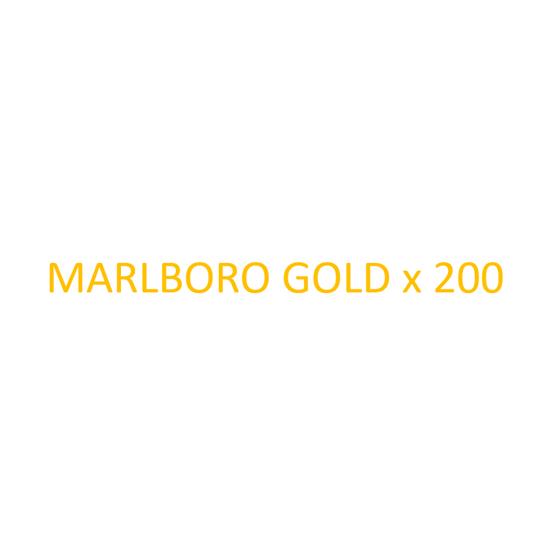 Image sur MARLBORO - Gold x 200