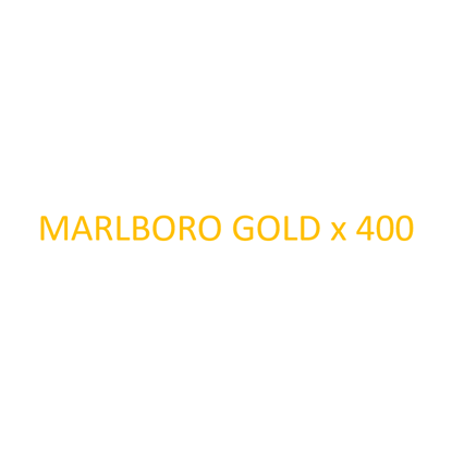 Picture of MARLBORO - Gold x 400