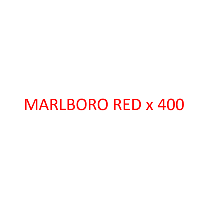 Picture of MARLBORO - Red x 400