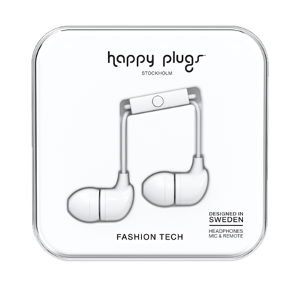 Picture of HAPPY PLUGS - White Headphone