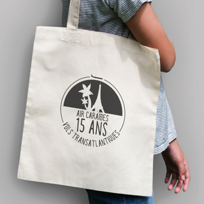 Image de AIR CARAIBES - Tote bag 15 ans