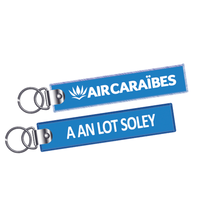 Picture of AIR CARAIBES - Flame key ring AN LOT SOLEY