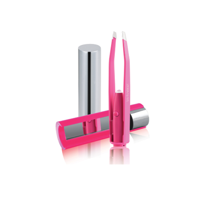 Picture of FREE GIFT FOR ANY ONLINE PRE ORDER - LA TWEEZ Pink tweezers*